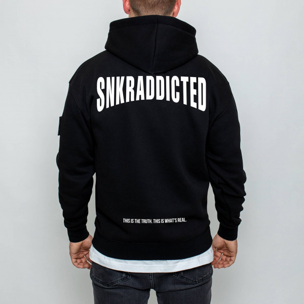 SNKRADDICTED FIRST WAVE OVERSIZED HOODIE