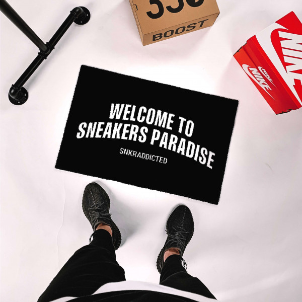 WELCOME TO SNEAKERS PARADISE Fußmatte